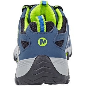 Merrell Moab Fst Low WP Shoes Children navy/blue